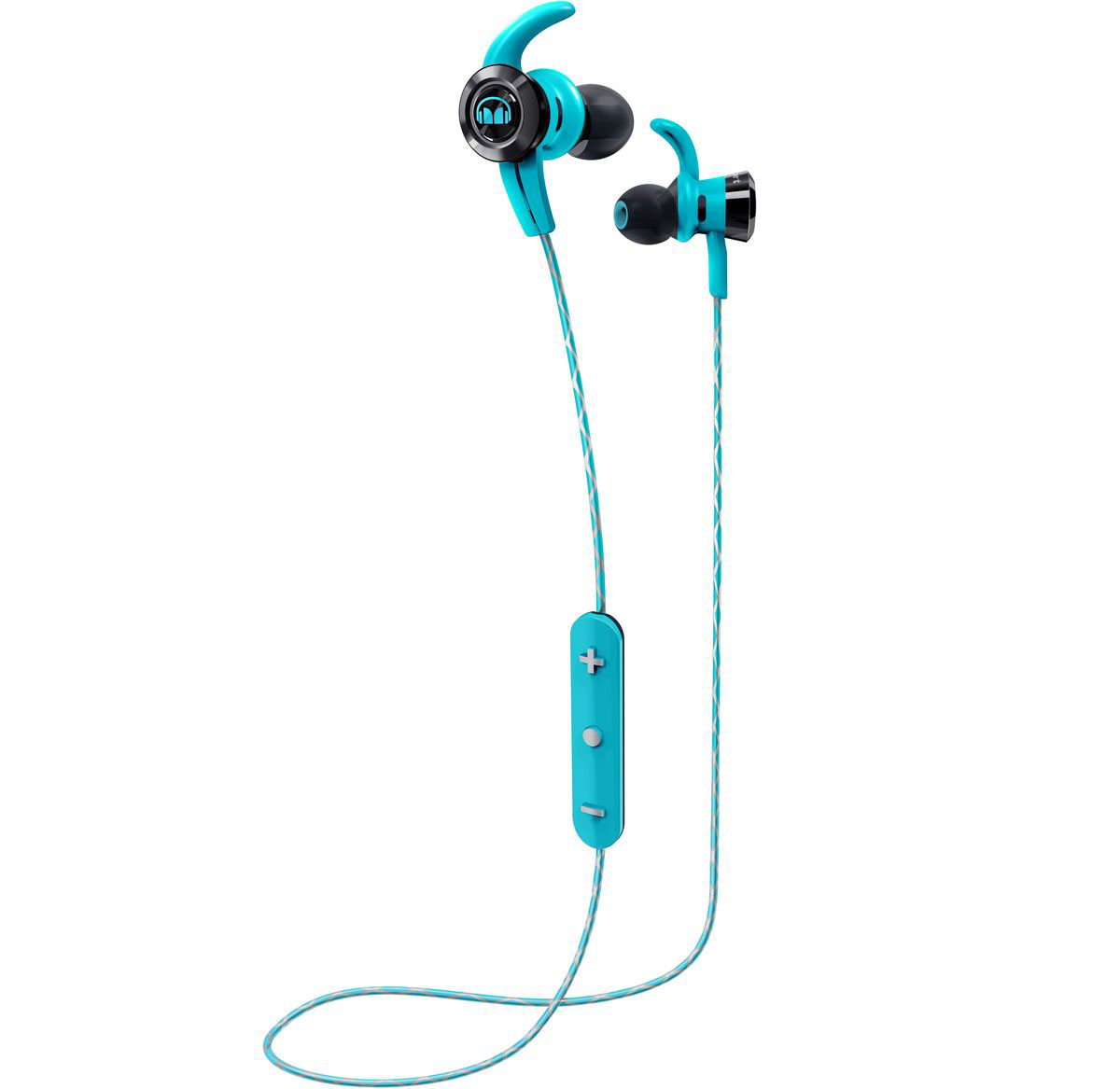 Monster iSport Victory In-Ear Wireless, Blue наушники аудио наушники monster наушники с микрофоном monster clarity hd white in ear headphones