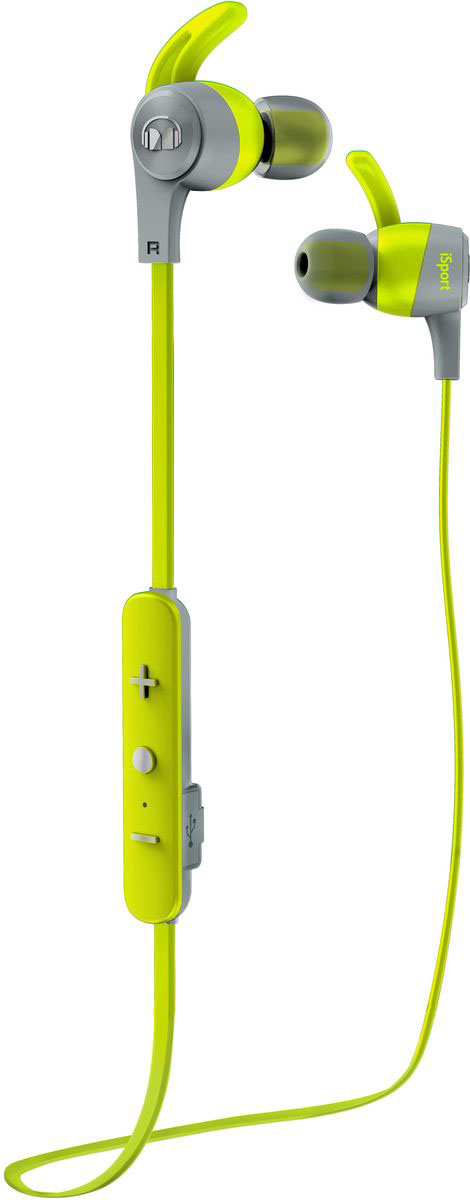 Monster iSport Achieve In-Ear Wireless, Green наушники беспроводные наушники monster isport victory in ear wireless blue