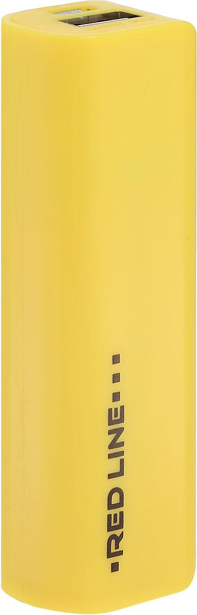 Red Line R-3000, Yellow внешний аккумуляторУТ000008705Универсальный внешний аккумулятор Red Line R-3000 предназначен для зарядки различных мобильных устройств. Благодаря компактному размеру и малому весу вы всегда можете держать внешний аккумулятор при себе и оперативно заряжать ваше мобильное устройство.