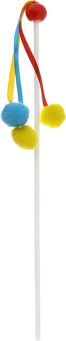 Игрушка для кошек Zoobaloo Дразнилка. Карусель, длина 40 см игрушки для животных zoobaloo игрушка для кошки бамбук плюшевый мяч на резинке 60см