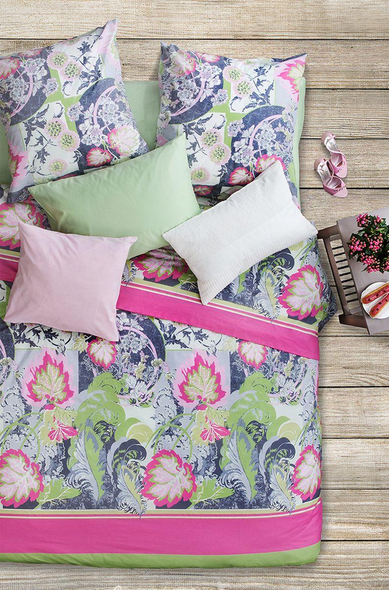 Комплект белья Sova & Javoronok Пачули, 1,5-спальный, наволочки 50x70, цвет: мультиколор комплект постельного белья quelle sova