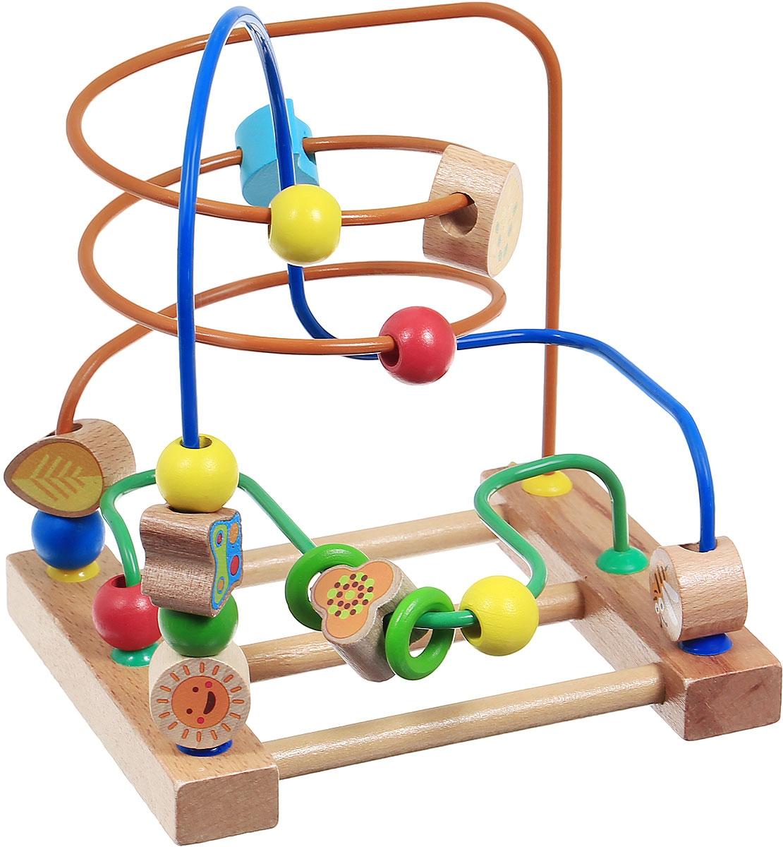 Мир деревянных игрушек Развивающая игра Лабиринт №3  - купить со скидкой