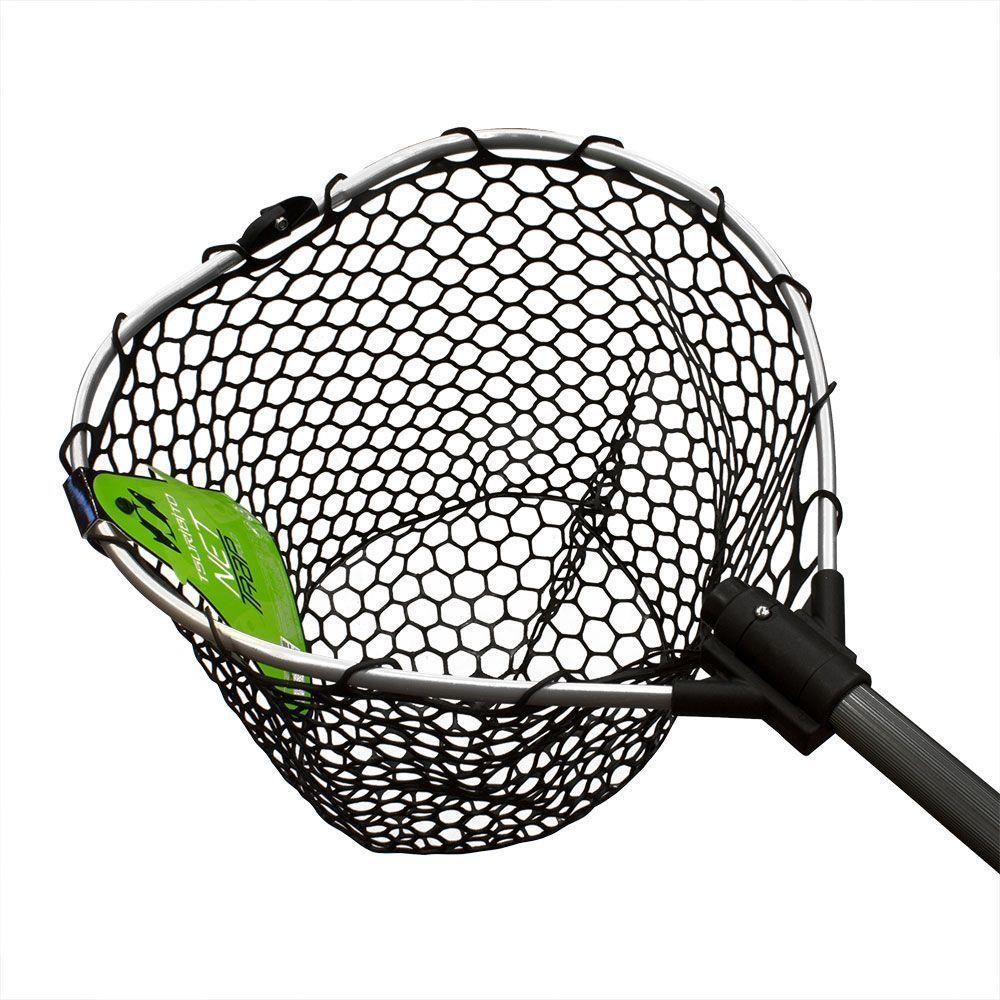 Подсачек Tsuribito Net Trap Fold, с силиконовой сеткой, складной, 95 х 38 х 38 см67944Универсальный подсачек Tsuribito Net Trap Fold с силиконовой сеткой применяется для вытаскивания рыбы без повреждения снастей и самого улова. Он отлично справляется с большими нагрузками благодаря наличию ручки из высокопрочного материала. При переноске подсачек очень удобен, занимает мало места. Сочетает в себе комфорт и удобство для максимально эффективных результатов рыбной ловли.