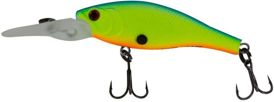 Воблер Yoshi Onyx Frisky Shad-38 F-MR, цвет: зеленый, 3,8 см75182Неглубокие, прогреваемые прибрежные зоны во второй половине лета становятся прибежищем рыбьей молоди. Yoshi Onyx Frisky Shad-38 F-MR вполне впишется в эту компанию. Различные способы анимации заставят приманку имитировать растерявшегося хаотически суетящегося малька,и внимательный хищник не упустит своего шанса.Заглубление: 0,5-1 м.