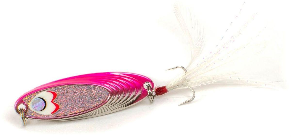 Блесна Yoshi Onyx Yalu Must, цвет: белый, розовый, 5 г95649Блесна Yoshi Onyx Yalu Must - уникальная, изготовленная с ювелирной точностью, выделяющаяся тщательно рассчитанным и скрупулезно проверенным, сложным, многогранным профилем, приманка для ловли рыбы. Устойчивые колебания без остановок и свалов и отменные баллистические характеристики приманки позволяют облавливать как обширные водные акватории, так и быстро текущие потоки.