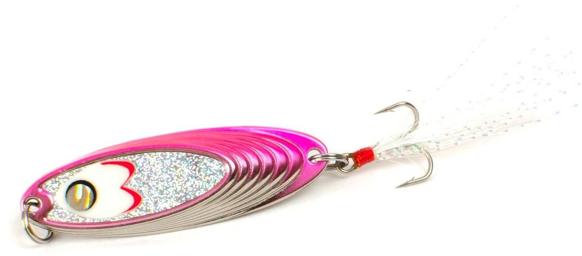 Блесна Yoshi Onyx Yalu Must, цвет: белый, розовый, 7,5 г93Блесна Yoshi Onyx Yalu Must - уникальная, изготовленная с ювелирной точностью, выделяющаяся тщательно рассчитанным и скрупулезно проверенным, сложным, многогранным профилем, приманка для ловли рыбы. Устойчивые колебания без остановок и свалов и отменные баллистические характеристики приманки позволяют облавливать как обширные водные акватории, так и быстро текущие потоки.