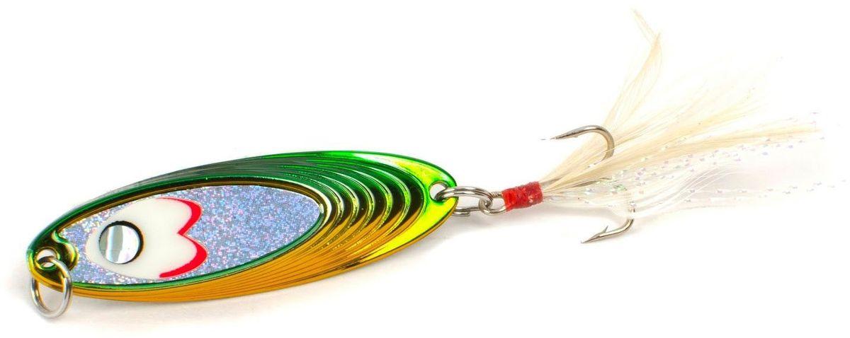 Блесна Yoshi Onyx Yalu Must, цвет: желтый, зеленый, 7,5 г блесна yoshi onyx yalu vib цвет голубой 7 5 г
