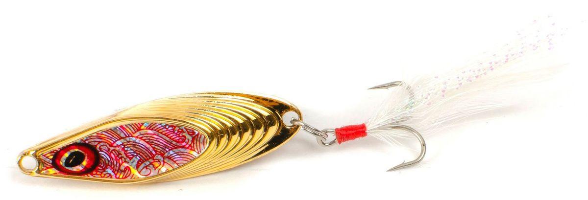 Блесна Yoshi Onyx Yalu Nose, цвет: золотой, 3,5 г95677Блесна Yoshi Onyx Yalu Nose имеет уникальную геометрию, что открывает бесконечный простор для творчества. Возможны практически любые анимации. Ритмичная размеренная пульсация на скоростной прямой проводке имитирует убегающую в панике рыбку, хаотическое качание из стороны в сторону на рывковой ступенчатой проводке напоминают деловитую суету кормящегося малька, а нервный трепет при свободном падении воспроизводит движения резвящейся в толще воды молоди.