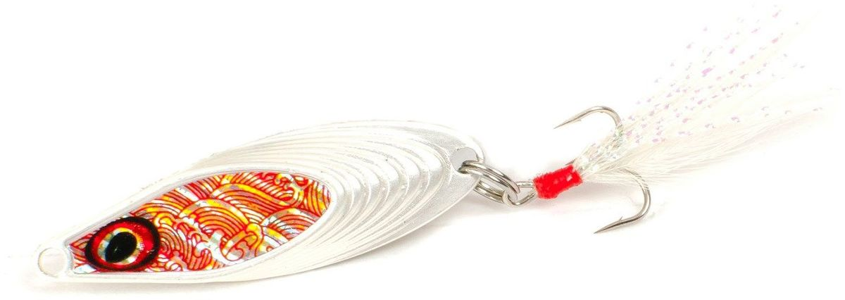 Блесна Yoshi Onyx Yalu Nose, цвет: белый, 3,5 г95681Блесна Yoshi Onyx Yalu Nose имеет уникальную геометрию, что открывает бесконечный простор для творчества. Возможны практически любые анимации. Ритмичная размеренная пульсация на скоростной прямой проводке имитирует убегающую в панике рыбку, хаотическое качание из стороны в сторону на рывковой ступенчатой проводке напоминают деловитую суету кормящегося малька, а нервный трепет при свободном падении воспроизводит движения резвящейся в толще воды молоди.