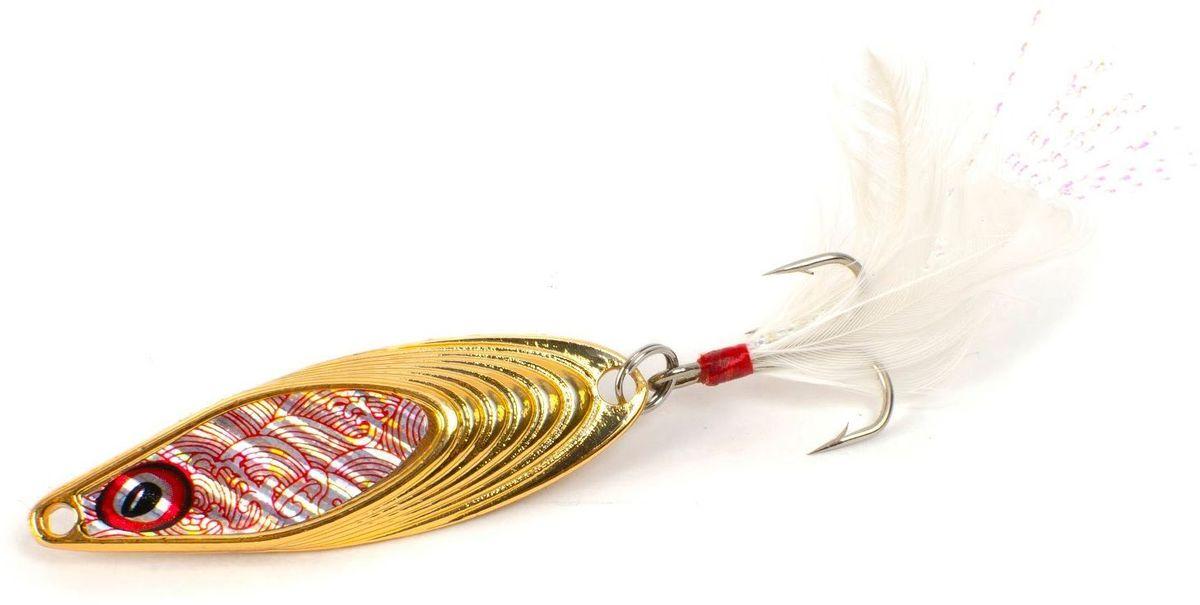 Блесна Yoshi Onyx Yalu Nose, цвет: золотой, 10 г