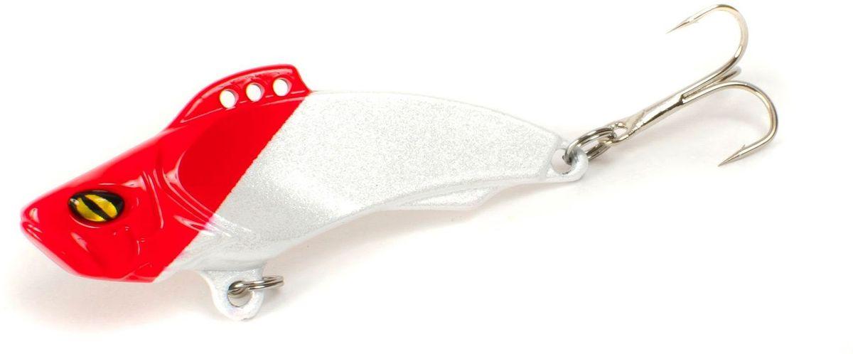 Блесна Yoshi Onyx Yalu Vib Up, цвет: красный, белый, 21 г95772Блесна Yoshi Onyx Yalu Vib Up - это приманка с характерной смещенной вперед развесовкой. Она отлично выдерживает рваный темп рывковых проводок, имитируя беззаботно копошащуюся у дна рыбку. Тщательно рассчитанный баланс приманки позволяет эффективно облавливать участки водоемы с ярко выраженным рельефом.