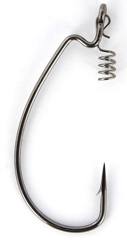Крючки офсетные Yoshi Onyx Magna Big Eye, HD 1/0, с пружинкой, 5 шт96271Офсетные кованные крючки Yoshi Onyx Magna Big Eye с химической заточкой выполнены из высококачественной стали. Но острота и прочность это не главные их достоинства. Во-первых, крючки спроектированы с увеличенным ушком, благодаря чему, теперь не придется тщательно выбирать для них разборный груз. Даже самая толстая проволока любой чебурашки с легкостью пройдет в ушко. Это обеспечит подвижность и легкость шарнирного монтажа. А во-вторых, производитель положил в упаковку еще и волшебный бонус - пружинки для монтажа силиконовых приманок. Пружинки нужны для того, чтобы при поклевках приманка, как это частенько бывает не измочаливалась и не рвалась. Наши эксперты заметили, что при монтаже силикона на пружину, приманка живет в несколько раз дольше, чем при ее классическом монтаже на офсетный крючок.