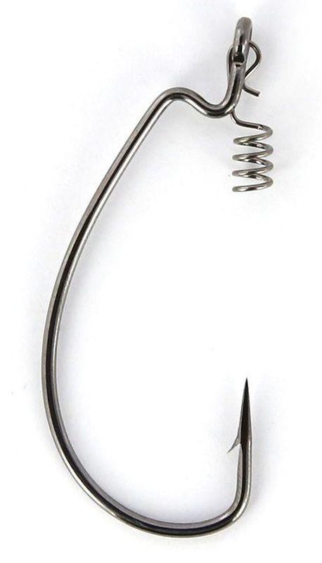 Крючки офсетные Yoshi Onyx Magna Big Eye, HD 1, с пружинкой, 5 шт джиг головка yoshi onyx jig bros шар 1 крючок gamakatsu 17 5 г 5 шт