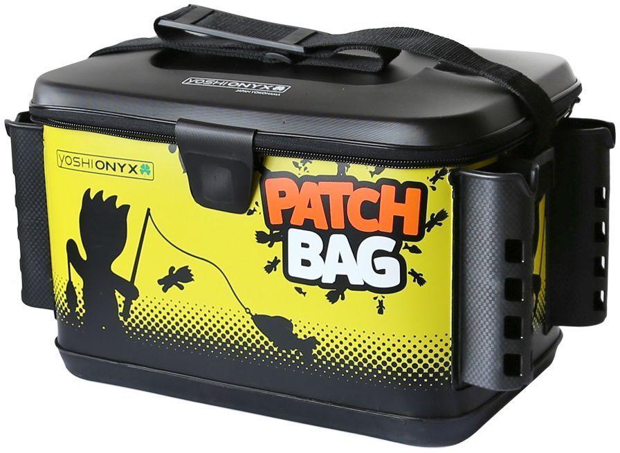 Сумка для снастей Yoshi Onyx Patch Bag, с держателями для спиннингов, цвет: черный, желтый96803Яркая, водонепроницаемая сумка Yoshi Onyx Patch Bag предназначена для снастей с держателями под 4 спиннинга. Изготовлена изкачественного материала EVA, который легко поддается чистке и мойке, с очень хорошим качеством прокраски и оригинальным узнаваемымрисунком. Сумка закрывается на молнию, но если вам нужно иметь возможность быстро сменить приманку, то можно воспользоватьсяфиксацией крышки липучкой с помощью одного касания. Снаружи имеются надежные, крепкие держатели для установки 4 спиннингов. Дляудобной переноски сумка оснащена наплечным ремнем, который можно отрегулировать по длине. В сумку можно поместить большие фирменныекоробки Yoshi Onyx для снастей.Сумка Yoshi Onyx Patch Box - невероятно яркий и красивый элемент рыболовного современного снаряжения, созданный приносить радость отрыбалки.