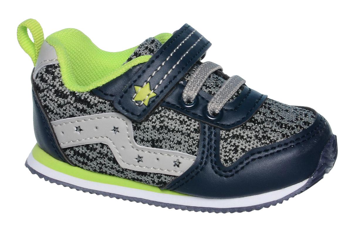 Кроссовки для девочки Tom&Miki, цвет: серый. B-1049. Размер 21