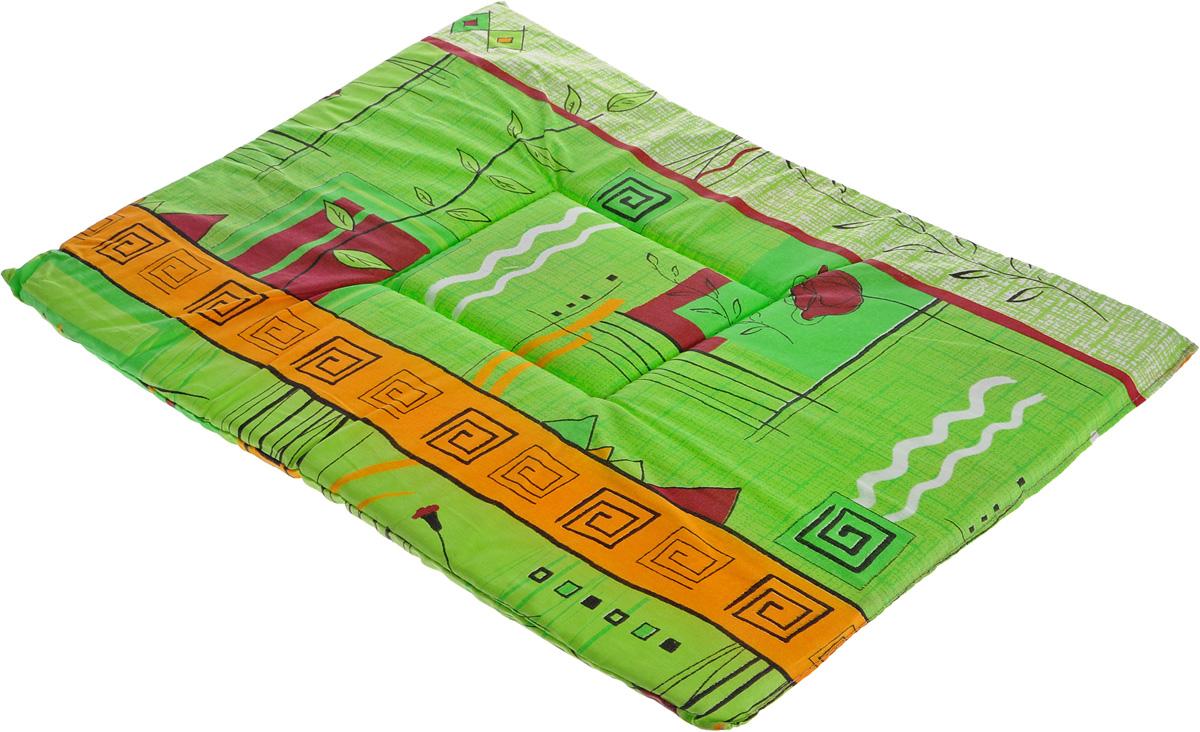 Лежак для животных Elite Valley Матрасик, цвет: салатовый, оранжевый, 40 х 55 см. Л-7/4Л-7/4_салатовый, оранжевыйЛежак для животных Elite Valley Матрасик изготовлен из высококачественной бязи, наполнитель - поролон. Идеален для переносок и использования в автомобиле. Он станет излюбленным местом вашего питомца, подарит ему спокойный и комфортный сон.Высота матраса: 2 см.