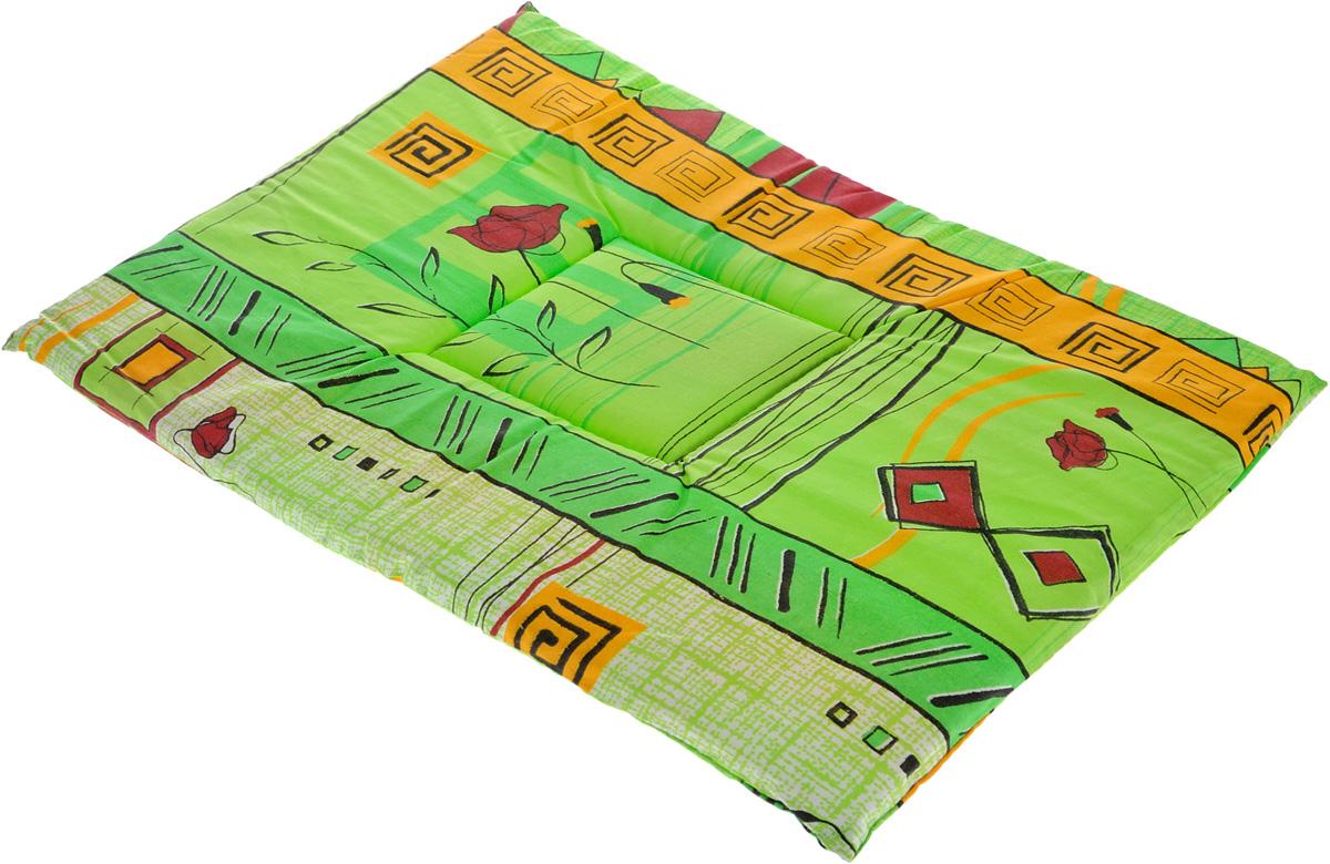 Лежак для животных Elite Valley Матрасик, цвет: салатовый, оранжевый, 35 х 50 см. Л-7/3 schecter damien elite 7