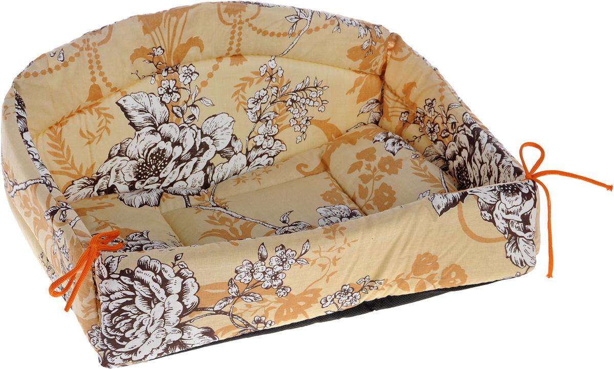 Лежак для животных Elite Valley Диван, цвет: бежевый, белый, 40 х 27 х 22 см. Л-24/1 ьсайт где можно диван б у новокузнецк