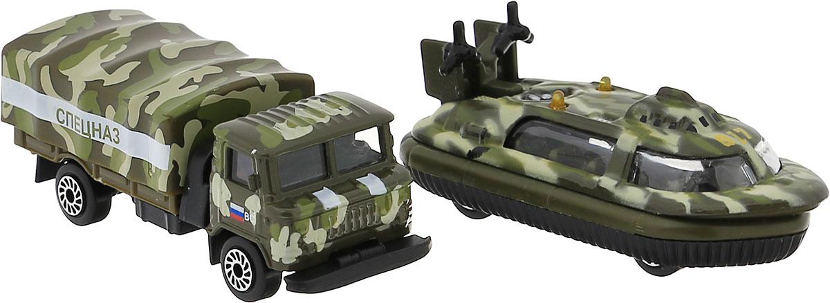 ТехноПарк Набор машинок Военная техника 2 шт SB-15-09-BLC
