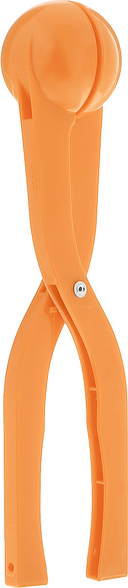 Снежкодел Снежколеп цвет оранжевый 36 см