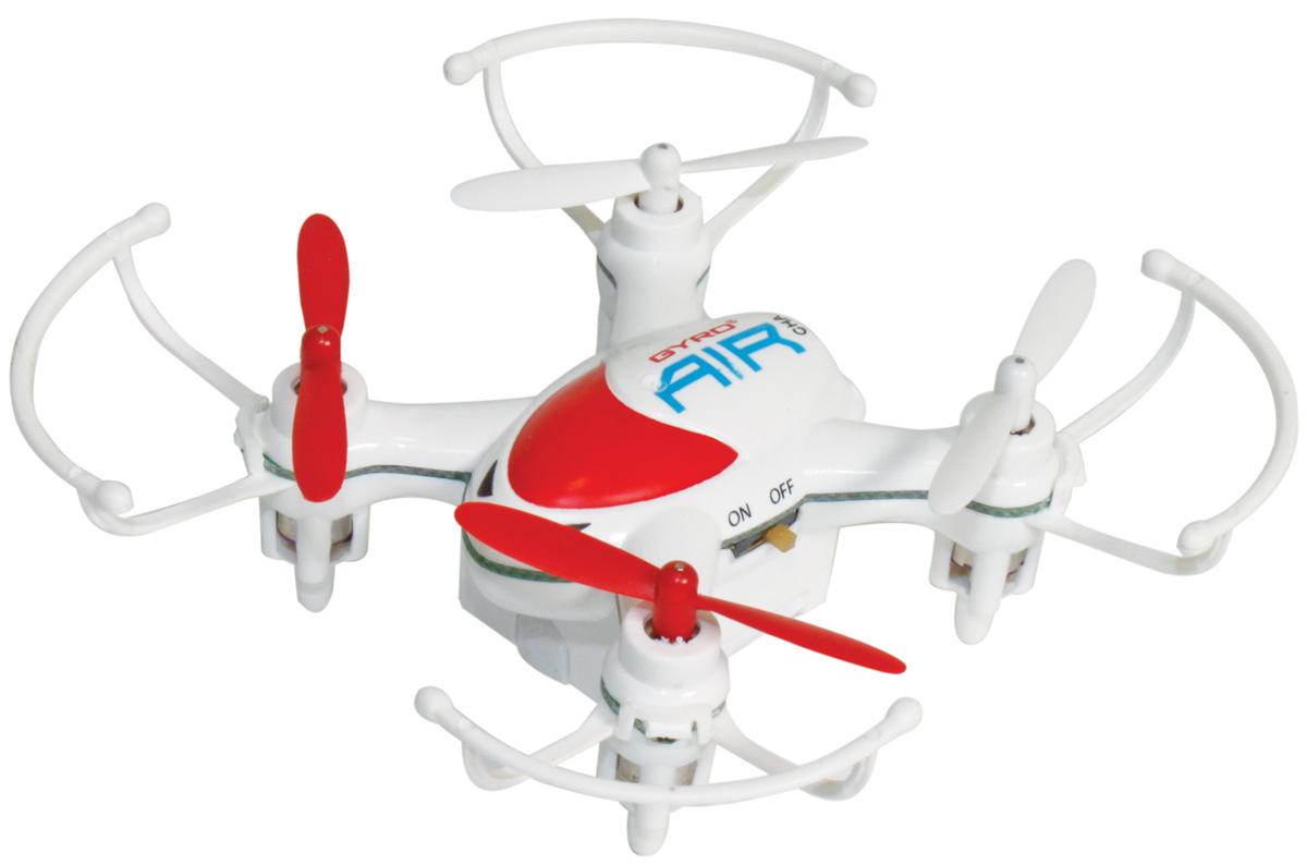 1TOY Квадрокоптер на радиоуправлении Gyro-Air цвет белый красный