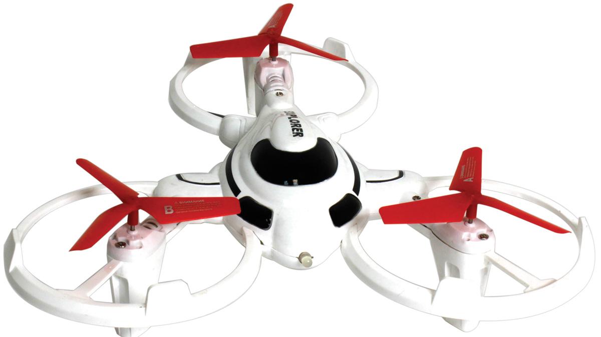 1TOY Квадрокоптер на радиоуправлении Gyro-Explorer 1toy трикоптер gyro explorer