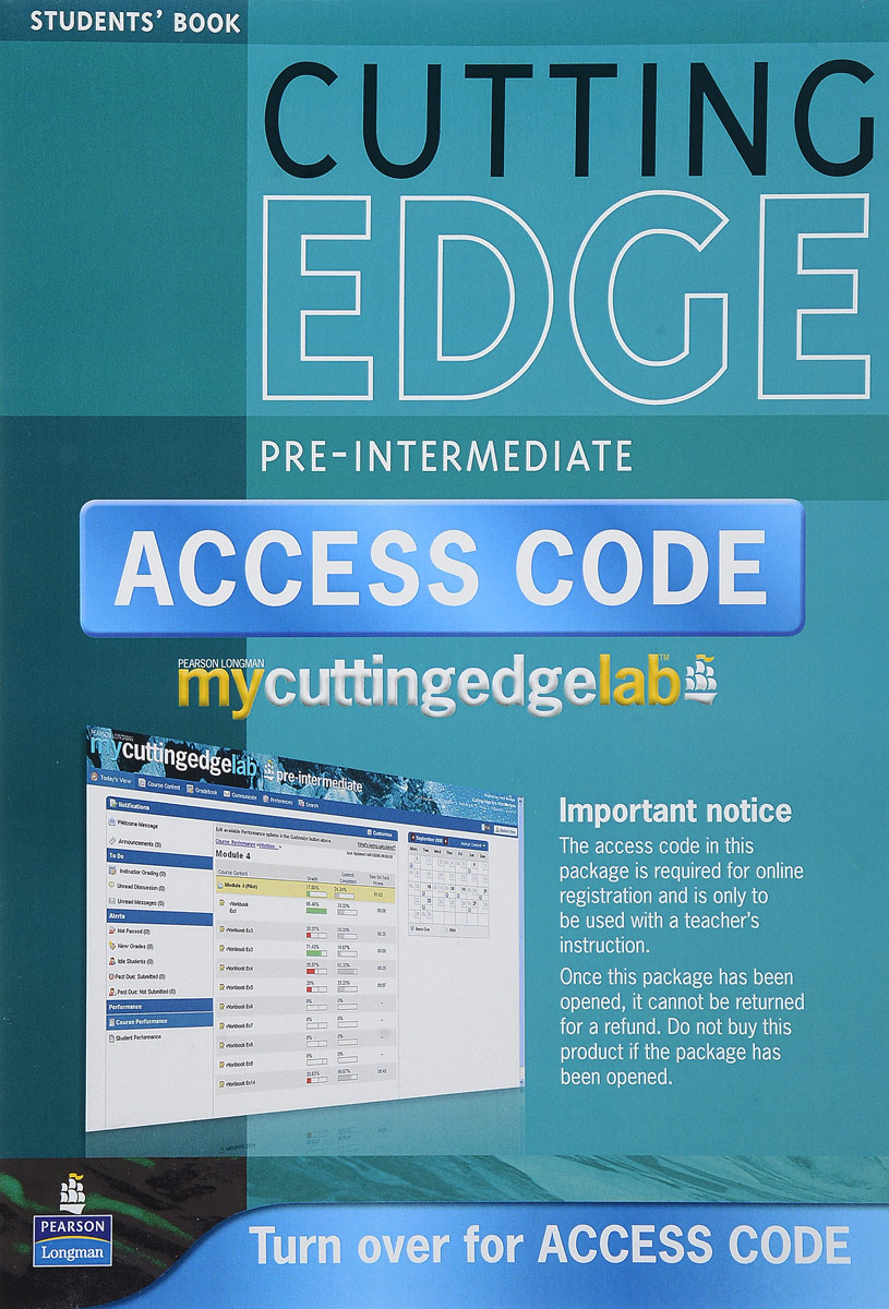 New Cutting Edge: Pre-Intermediate: Student's Book with Mini-dictionary (+ CD) new cutting edge intermediate student s book mini dictionary and cd rom