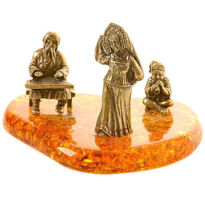 Фигурка декоративная Гифтман Ансамбль. Ручная работа.5231152311Фигура на янтаре