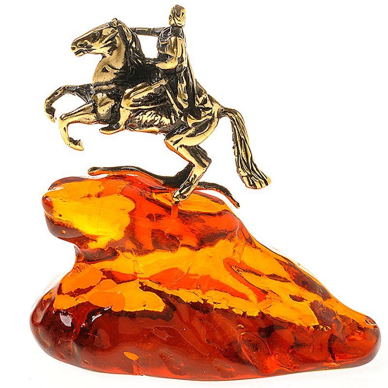 Фигурка декоративная Гифтман Петр на горе. Ручная работа. 5340053400Фигура на янтаре