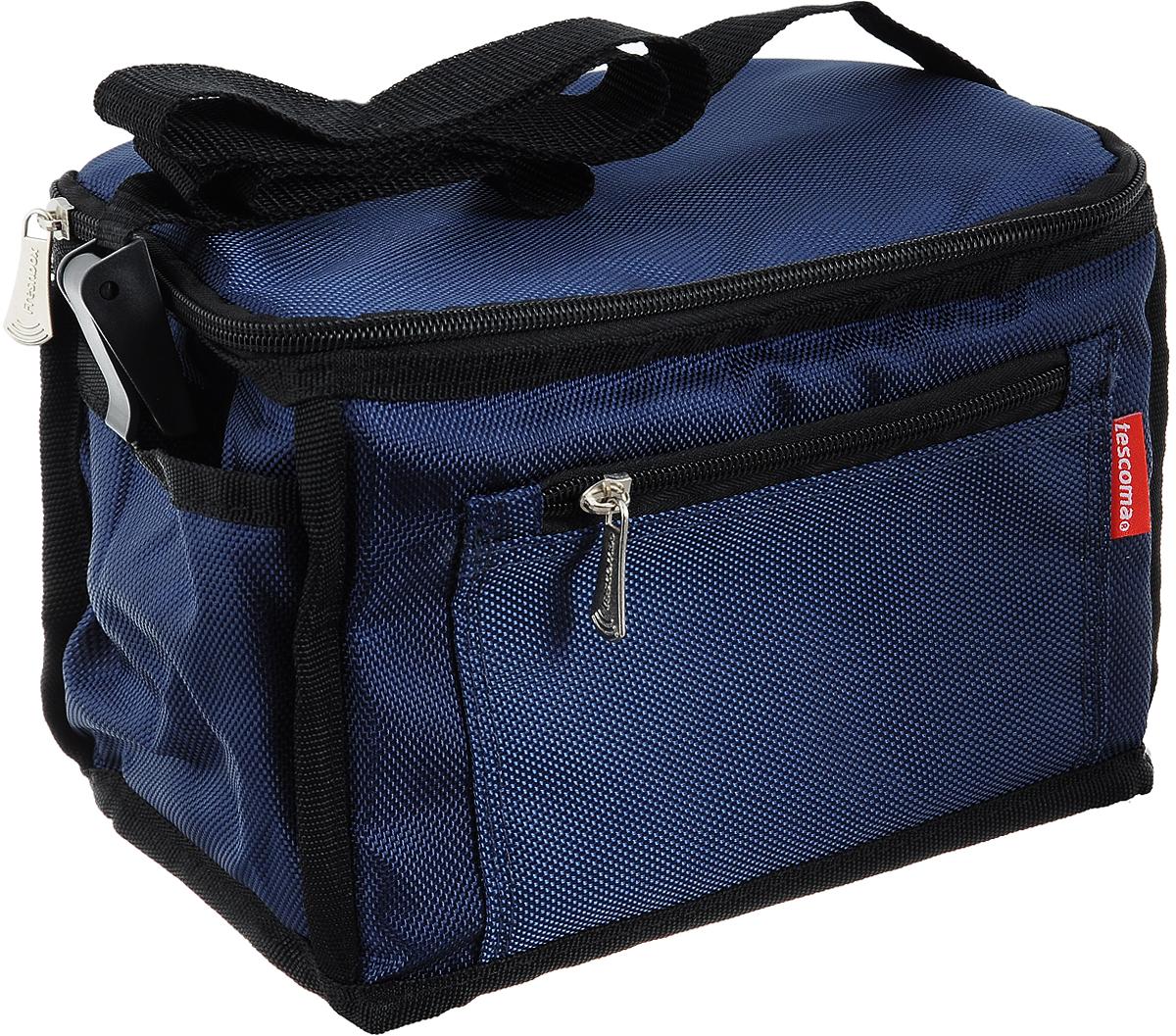 "Термосумка Tescoma ""Freshbox"", цвет: синий, черный, 24,5 х 16,5 х 15 см"
