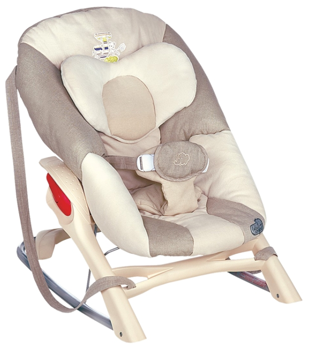 Bebe Confort Кресло-качалка Cocon Evolution цвет бежевый bebe confort шлем мягкий защитный