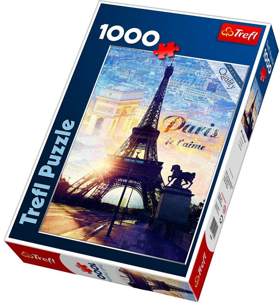Trefl Пазл Париж на рассвете