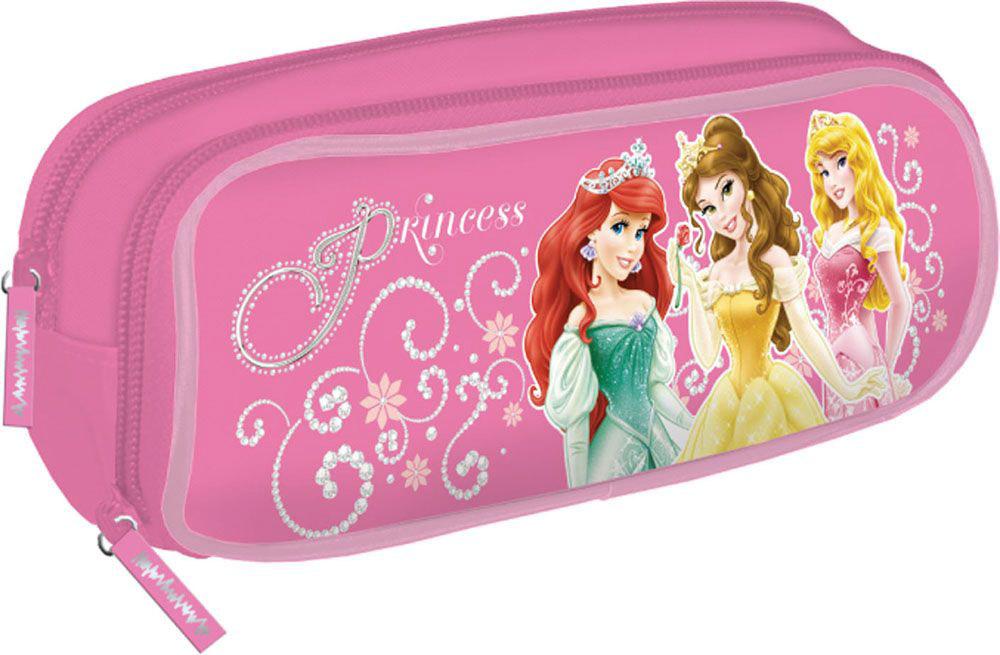 Disney Пенал Princess цвет розовый - Пеналы