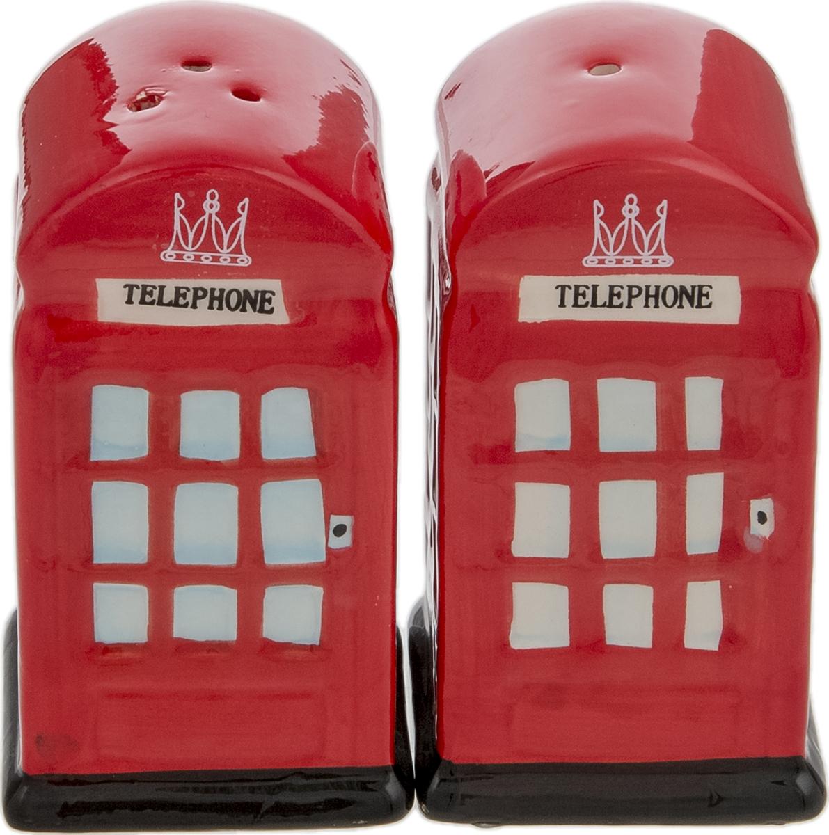 Набор для специй Телефонная будка. Фарфор, роспись, глазуровка. Великобритания, 2000-е гг.2520468Прекрасный набор для специй Телефонная будка: перечница и солонка с пробкой. Фарфор, роспись, глазуровка. Маркировка: без клейма. Датировка: Великобритания, 2000-е гг.Размер: Перечница - высота 8 см, 4 х 4 см. Солонка - высота 8 см, 4 х 4 см. Оригинальная упаковка.Сохранность отличная, изделие не было в использовании.