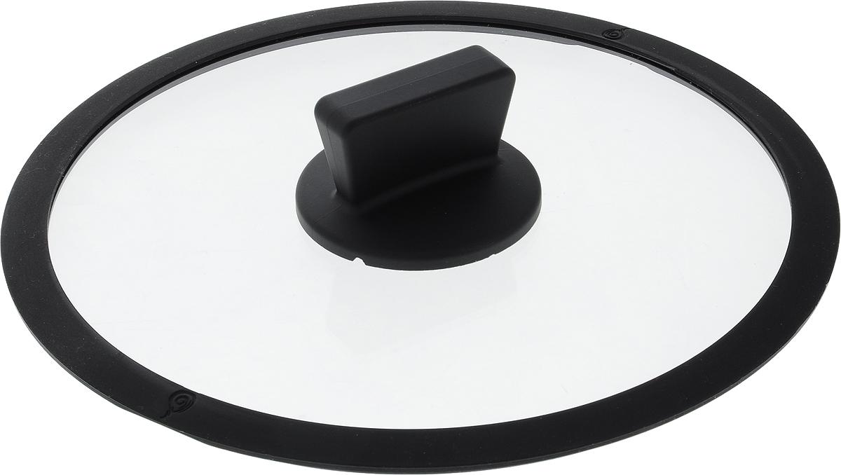 Крышка Dosh l Home  ERIDANUS , с силиконовым ободком. Диаметр 24 см - Посуда для приготовления