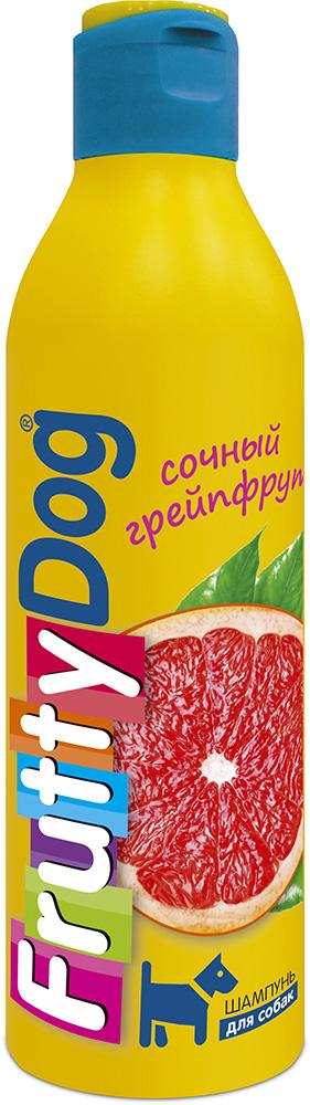 Шампунь для собак АВЗ FruttyDog. Сочный грейпфрут, 250 мл65137Шампунь для собак с ярким ароматом грепфрута, подходит ля частого применения