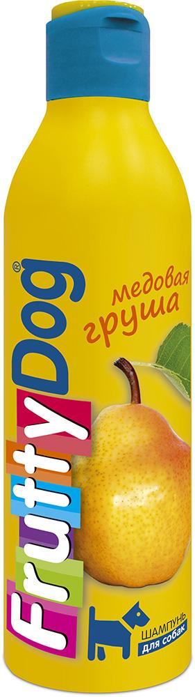 Шампунь для собак АВЗ FruttyDog. Медовая груша, 250 мл