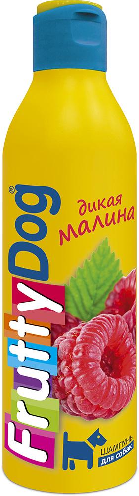 Шампунь для собак АВЗ FruttyDog. Дикая малина, 250 мл