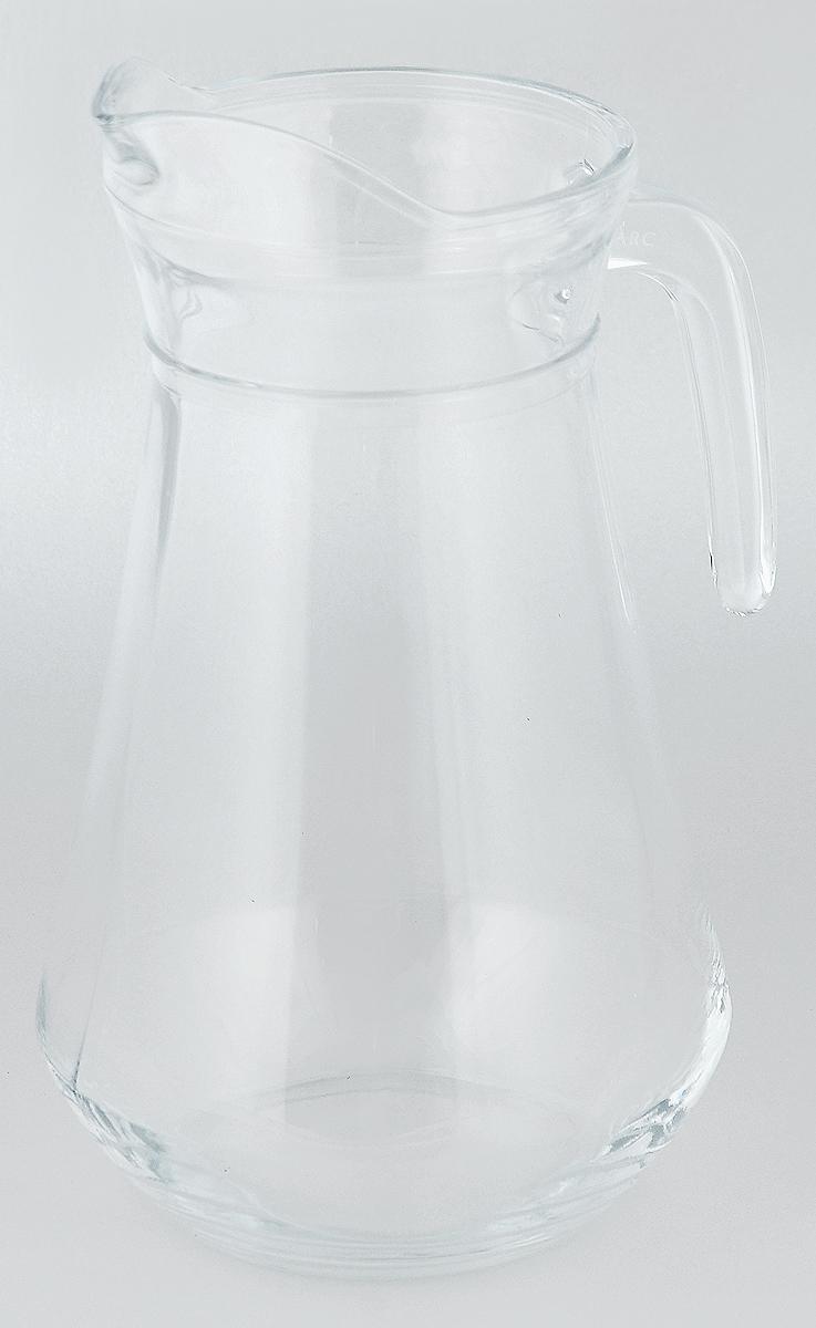 Кувшин Luminarc Arc, 1,6 л53061Кувшин Luminarc Arc, выполненный из высококачественного стекла, оснащен удобной ручкой. В нем будет удобно хранить и подавать на стол молоко, соки или воду.Кувшин Luminarc Arc украсит любой кухонный интерьер и станет хорошим подарком для ваших близких. Диаметр кувшина (по верхнему краю): 10,5 см. Высота: 24 см.Объем: 1,6 л.