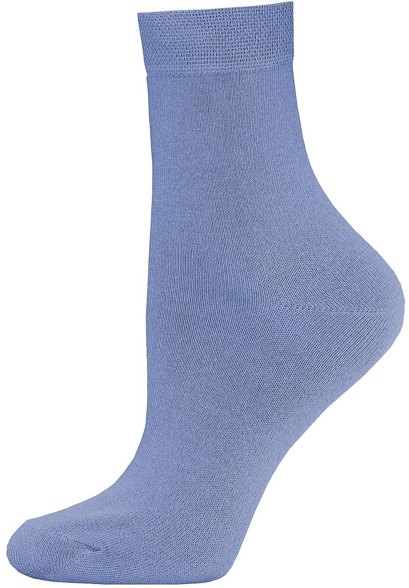 Носки женские Брестские Classic, цвет: джинс. 14С1100/000. Размер 2314С1100/000Женские гладкие носки Брестские Classic изготовлены из хлопка с добавлением полиэстера и эластана. Однотонная модель средней длины имеет мягкую комфортную резинку.