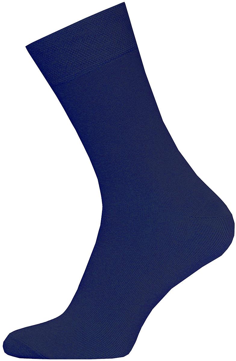 Носки мужские Брестские Classic, цвет: темно-синий. 14С2122-Д38/000. Размер 2914С2122-Д38/000Мужские гладкие носки Брестские Classic изготовлены из хлопка с добавлением полиэстера и эластана. На модели предусмотрен двойной борт. Носки хорошо держат форму и обладают повышенной воздухопроницаемостью, имеют усиленные пятку и мысок для повышенной износостойкости.
