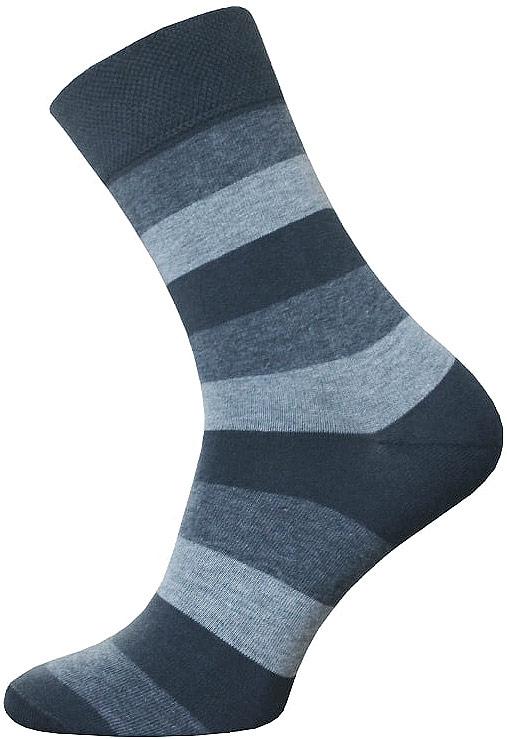 Носки мужские Брестские Classic, цвет: темно-серый. 14C2125/047. Размер 27 носки женские брестские bamboo цвет темно серый 14с1501 024 размер 25