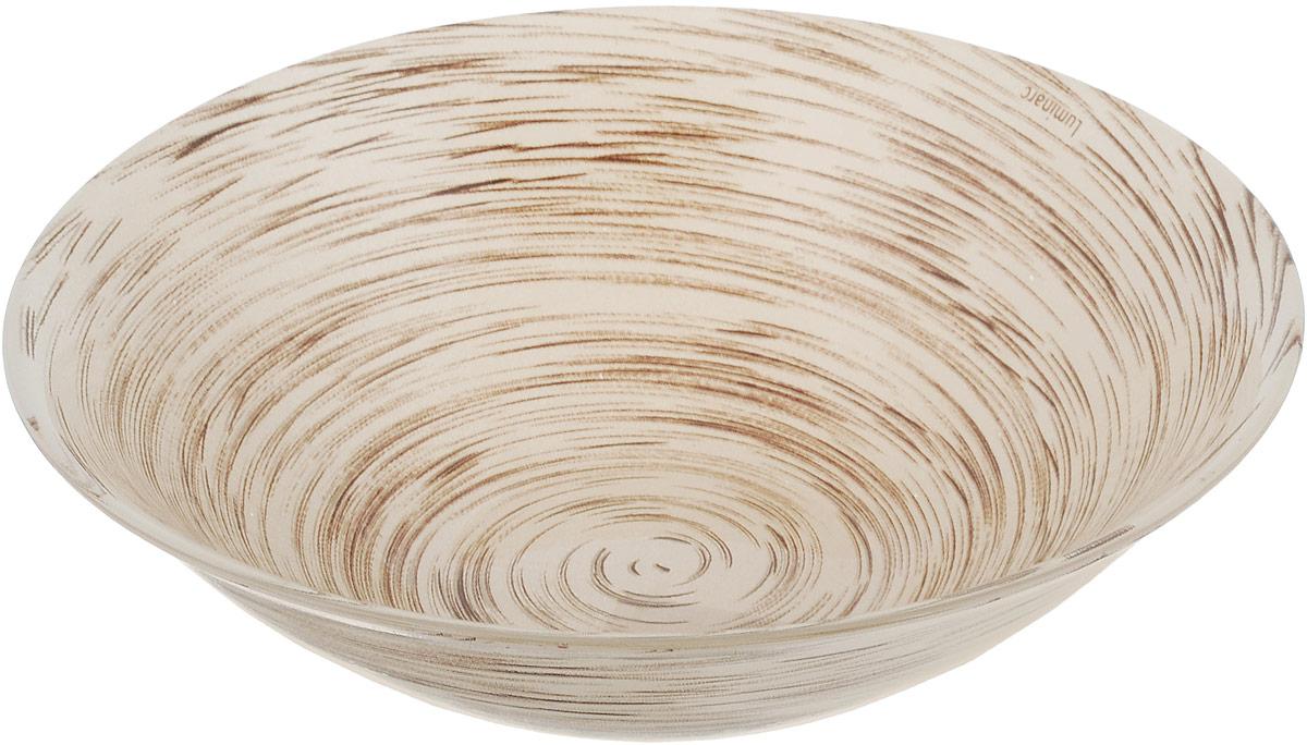 Салатник Luminarc Stonemania, цвет: светло-коричневый, диаметр 16,5 смJ2133Салатник Luminarc Stonemania выполнен извысококачественного стекла. Он прекрасно впишется в интерьер вашей кухни и станет достойным дополнением к кухонному инвентарю.Салатник Luminarc Stonemania подчеркнетпрекрасный вкус хозяйки и станет отличным подарком.Можно мыть в посудомоечной машине и использовать в СВЧ.Диаметр салатника (по верхнему краю): 16,5 см.Высота стенки салатника: 5 см.