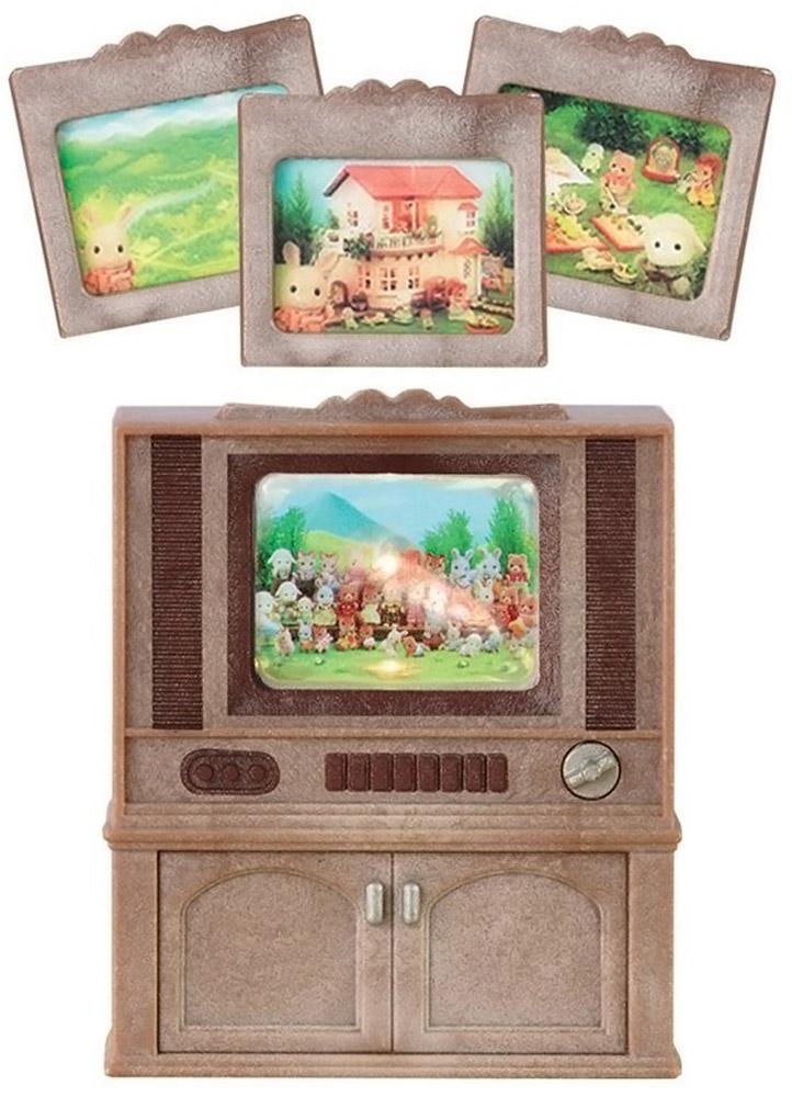 Sylvanian Families игровой набор Цветной телевизор, в цветовом ассортименте игровые наборы sylvanian families игровой набор цветной телевизор