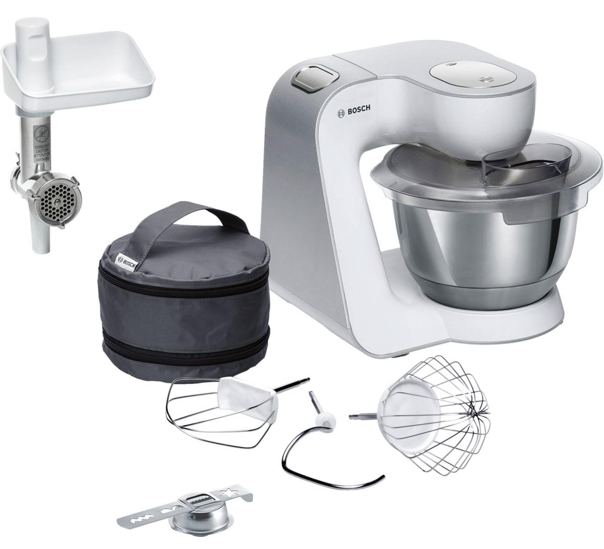 Bosch MUM58225, White кухонный комбайн - Комбайны и мясорубки