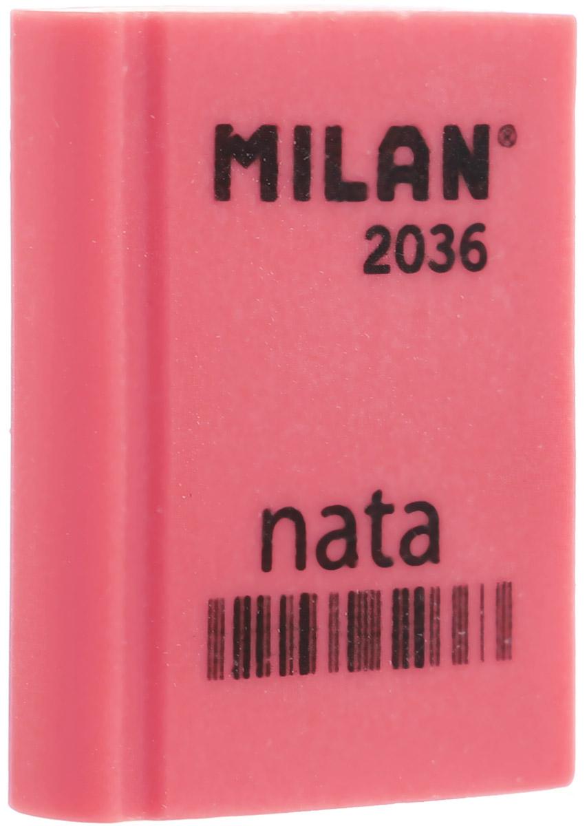 Milan Ластик Nata 2036 прямоугольный цвет коралловый все цены