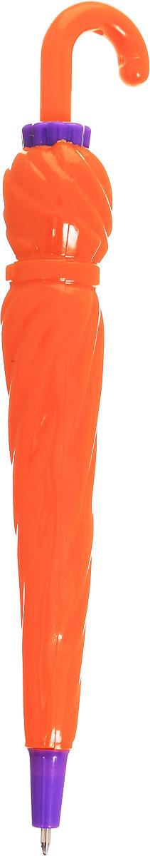 Эврика Ручка шариковая Зонт цвет корпуса оранжевый фиолетовый96543_оранжевый, фиолетовыйРучка Эврика - это миниатюрный пластиковый зонтик, который, благодаря рукоятке-крючку, можно повесить в удобном месте. А если на рукоятку нажать, зонтик превратится в компактную шариковую автоматическую ручку.Такая ручка станет отличным подарком и незаменимым аксессуаром, она удивит и порадует получателя.