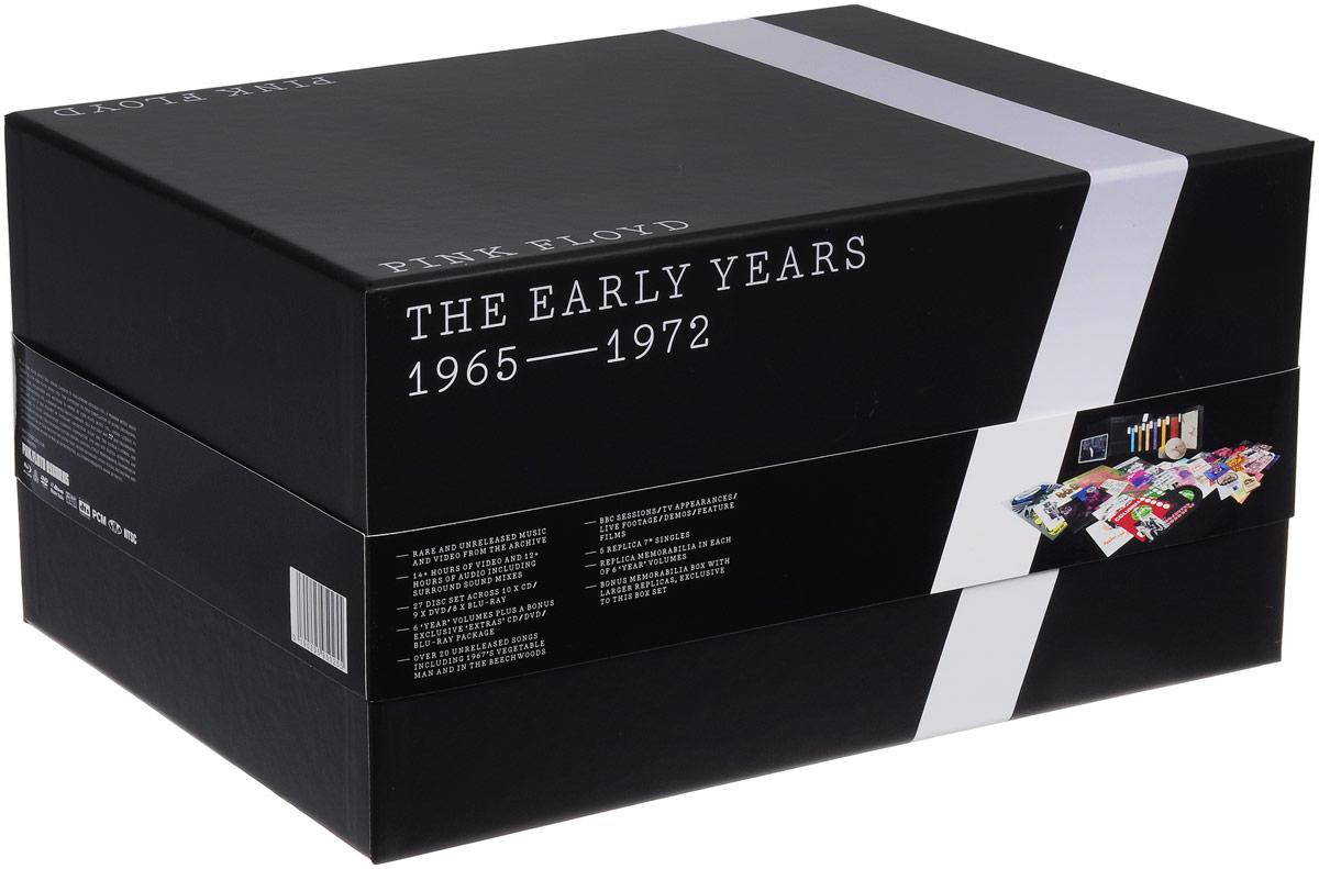 """Pink Floyd"" Pink Floyd. The Early Years 1965-1972 (10 CD + 9 DVD + 8 Blu-Ray + 5 LP)"