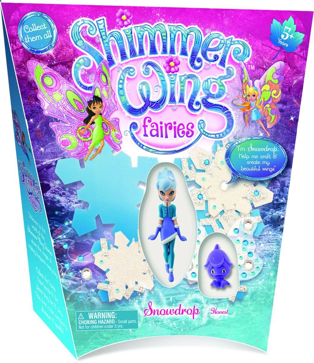 Shimmer WingИгровой набор с мини-куклой Фея Снежинка Ultimate Source Ltd.
