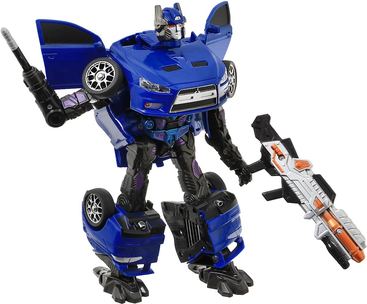 Able Star Робот-трансформер Mitsubishi Motors Lancer Evolution X & Pajero цвет синий able star трансформер inter change цвет желтый